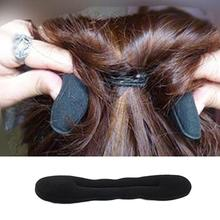 New Magic Sponge Hair Styling Hot Selling Bun Maker Twist Curler Tool Clip Donut Style 2 Size