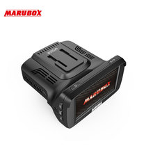 Marubox M500R car dvr radar detector gps 3 in 1 HD 720P 120 Degree Angle Russian Language Video Recorder logger free shipping