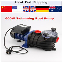 Electric Swimming Pool Pump Filter Max Flow rate 11000L/hr 600W Pump for In / Above Ground Pool Water Spa NEW