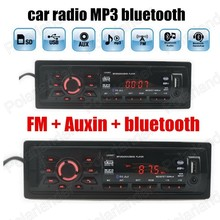 Car Audio Stereo Player Bluetooth music phone Auxin MP3 FM USB SD 1 Din size remote control Car Radio Audio Auto hot sale