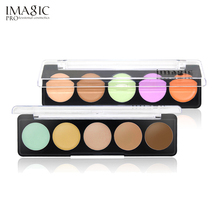 IMAGIC Professional Concealer Palette Concealer Facial Face Foundation Cream Makeup Cosmetic Beauty With 2 Style Palette(China)
