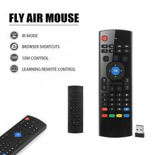 New 2.4G Wireless Air Mouse Remote Control Keyboard for Android TV Box Jun2 2017 drop shipping 0608