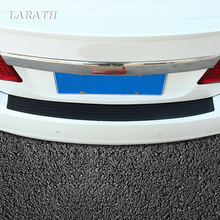 "35"" Car Trunk Rubber Strip Rear Guard Bumper Protector Trim Cover with Rear Anti-Scratch Protection"