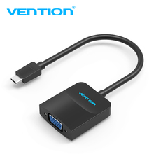Vention USB C type-c vga Adapter Type C Cable to VGA Converter USB 3.1 Type-c VGA Cable For Macbook Chromebook Pixel Dell Lumia(China)
