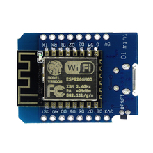 ESP8266 ESP-12 USB D1 Mini WIFI Development Board D1-Mini NodeMCU Lua IOT Board Based On ESP-8266EX 11 Digital Pins 3.3V(China)