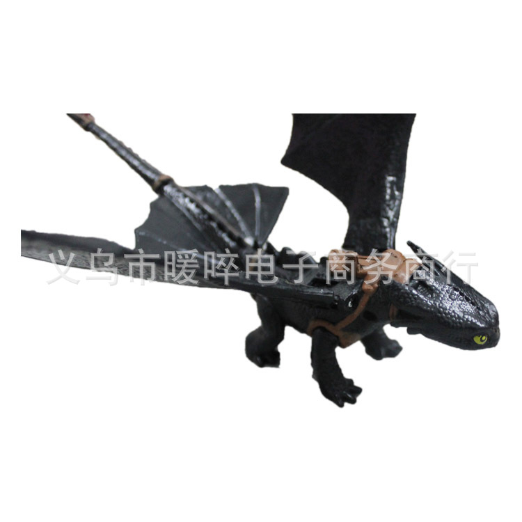 20CM How to Train Your Dragon 2 night fury Model action figure Toothless Action figure Holiday gift decorations<br><br>Aliexpress