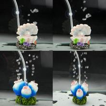 Artificial Coral Pearl Aquarium Air Bubble Decoration Fish Tank Aerator Scenery Stone Aquarium Ornament Used With Air Pump(China)