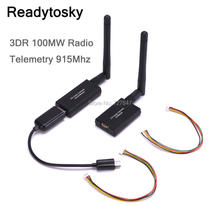 3DR 100mW Radio Telemetry 915Mhz Air and Ground Data Transmit Module for APM 2.6 2.8 Pixhawk Flight Control(China)