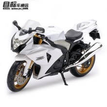 Free Shipping Genuine new alloy SUZUKI motorcycle model metal alloy models children toy motorcycle model