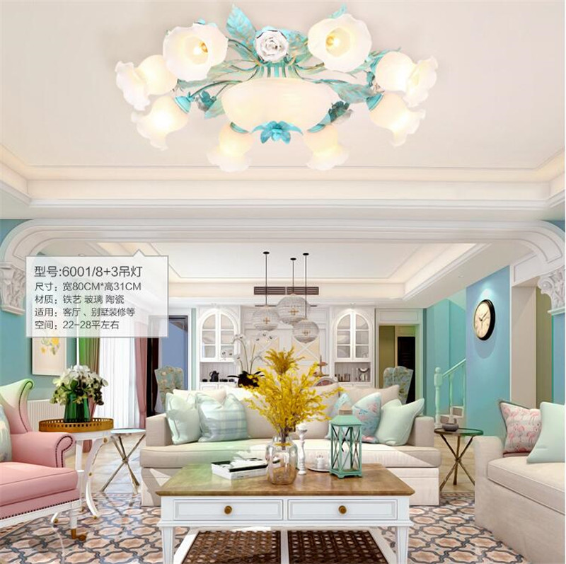 Ceramic ceiling light (6)