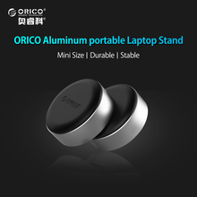 ORICO Portable Aluminum Laptop Stand, Heat-dissipation Footpad for MacBook, Lenovo, Asus, Dell and More (ANS2)(China)
