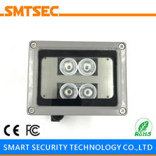 SI-4IR 4PCS LED 30M Distance IR Infrared Illuminator 15-90 Degrees Optional Light Lamp For CCTV IP Security Camera(China)