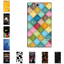 Hard Case for Sony Xperia Go St27i Thin Back Cover UV Painting PC Shield Protective Case for Sony Xperia Go St27i Phone Skin(China)