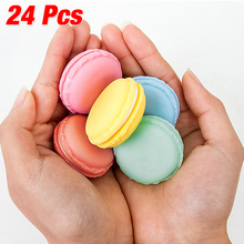 WITUSE 24 Pcsportable earring/necklace/jewelry/pill/gum storage boxes macarons case(China)