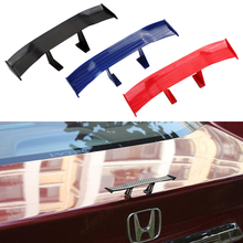Car Styling Mini small tail spoiler Black Red Blue Universal ABS decorative For Audi BMW Benz VW Hyundai Honda Toyota Peugeot
