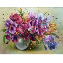 HOME BEAUTY full square diamond painting embroidery crystal mosaic diamond cross stitch kits resin craft flower decor AA751(China)