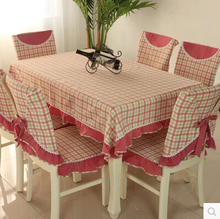 Home hotel dining/wedding embroidered chair Lace Table Cloth Jacquard Floral Rectangular Tablecloth fabric to table covers