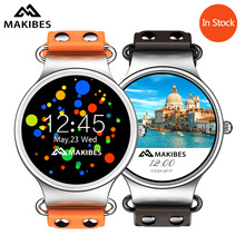 In Stock! Makibes Talk T1 3G Smartwatch Phone 1.39 Inch AMOLED Screen MTK6580 Heart Rate Monitor GPS Google Play/Now 512MB + 8GB