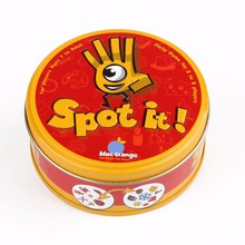 "Children 's educational toys ""Spot It ""Board Game Kid Find and Match Popular Card Puzzle Game For Children Outdoor & Indoor Spor"