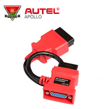 A++ Quality Male 12P To 16P Femaled 12pin to 16pin adaptor for Mitsubish/Hyundai Autel Diagnostic Tool