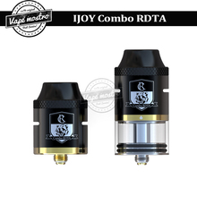 100% Original IJOY Combo RDTA sub ohm tank 6.5ml RDA RTA atomizer capacity side filling system with IMC-2 IMC-3 deck Combo tank