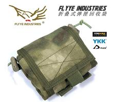Free shipping FLYYE MOLLE Folding Magazine Drop Pouch folding pouch debris recovered pouch CORDURA M014(China)