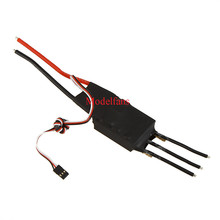 60A 80A 100A 125A 200A Brushless Water Cooling Electric Speed Controller ESC with 5V/3A BEC for RC Boat Model
