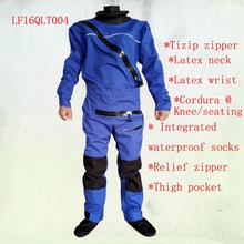 2016 front zipper dry suit,latex neck and wrist gasket tizip relief zipper kayak,whitewater,rafting,sailing,boating windsurfing