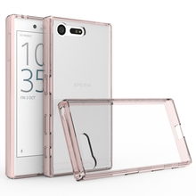 XBXCase TPU + Acrylic Transparent Clear Hard Back Cover Case For Xperia X Compact ( X mini ) Protection Air Hybrid Case