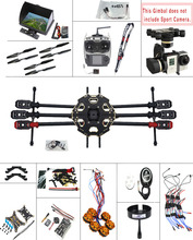 F07807-I JMT 2.4G 9CH DIY RC PX4 GPS 5.8G FPV 680PRO Hexacopter Unassembled 6-Axle Kit ARF RC Drone MINI3D Pro Gimbal No Battery