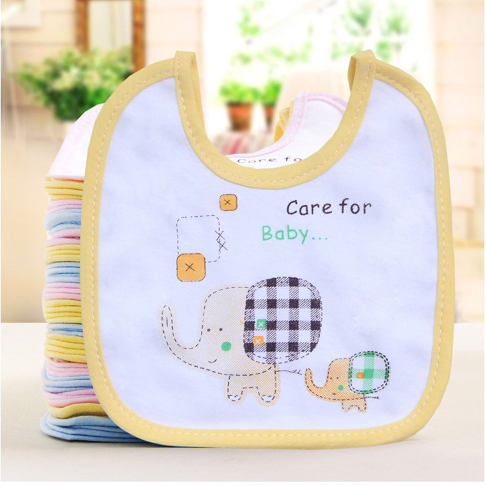 Baby Bib Towel Bandana Waterproof Best Baby Burp Cloths Lovely Bandana Kid Babies Embroidered Saliva Bib Comfortable Towel T0060(China)