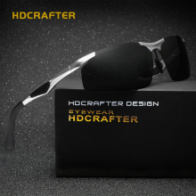 HDCRAFTER Mens Sport Polarized Sunglasses Men Outdoor Sun Glasses Fishing Retro Male Driving Vintage Eyewears Accessories Oculos(China)