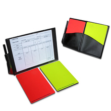 New Soccer Football Referee Case with Red Card and Yellow Card Football Standard Bookings B2Cshop(China)