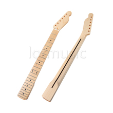 Guitar Neck Maple 22 Fret Maple Fingerboard Black Dot Inlay for Electric Guitar Replacement Parts(China)