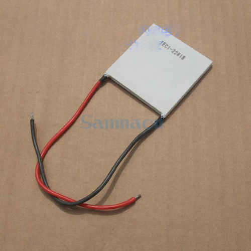 50x50x4.0mm 18A 15V 289W TEC1-22818 Thermoelectric Cooler Peltier Heatsink<br>