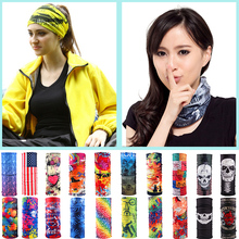 LNRRANC 32Patterns Unisex Motorcycle Cycling Tube Scarf Women Men Multicolor Magic Head Face Mask Neck Gaiter Snood Headwear(China)