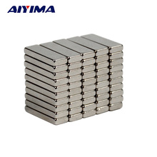 50pcs N35 15x5x2 Stronger Neodymium Magnets 15*5*2mm Cuboid Teaching Magnetic Tape Rare Earth Magnets Counter 15mm*5mm*2mm(China)
