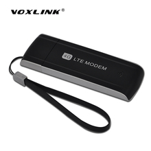 VOXLINK 100Mbps 4G Dongle Modem LTE FDD WCDMA EVDO USB Wireless Modem Stick Support B1/B3/B7/B8/B20 With SIM Card Slot(China)