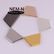 5pcs/lot NEM-N 15*30*20*4mm Trapezoidal hollow connector Charms Diy fit bag/Phone/Decoration Handmade costume jewelry Findings