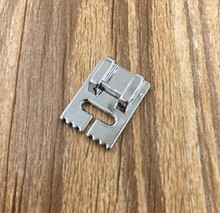 Household Multi-Function Sewing Machine Tank Presser Foot With 7 Grooves,Compatible With Brother,Janome,Singer,Feiyue,Acme...