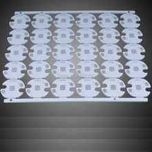 White CREE XM-L XML T5 T6 U2 LED PCB Aluminum Base Plate Circuit Board 16mm Diameter Heatsink For DIY LED Light 50PCS/LOT(China)