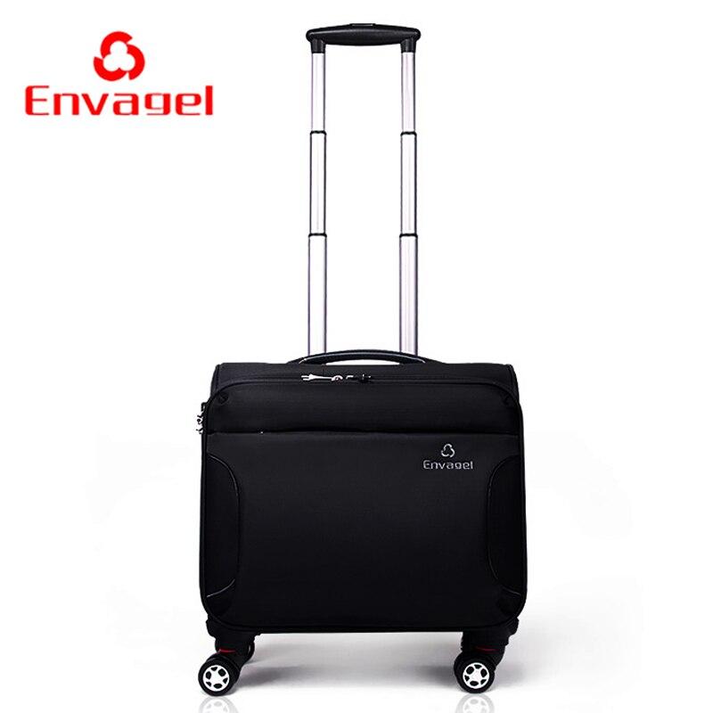 Commercial universal wheels trolley luggage travel bag luggage male soft box oxford fabric luggage 16 female travel luggage bag<br><br>Aliexpress