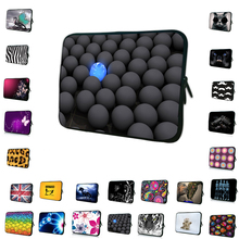 Viviration Retail Neoprene 7 10 12 13 14 15 17 inch Laptop Sleeve Bag Portable Cover Case For Macbook Dell Acer Aspire One 11 13(China)