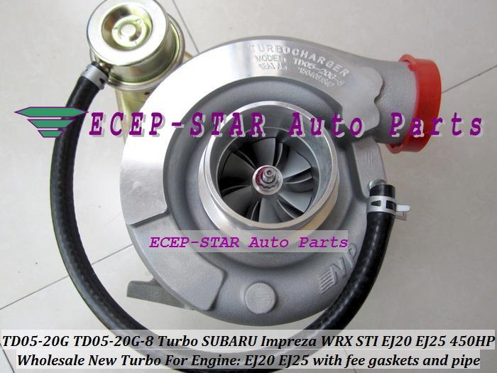 TD05 16 G 20 G Subaru Impreza WRX STI Turbo à exhaust downpipe Gasket