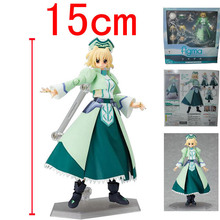 Action Figure Magical Girl Lyrical Nanoha Shamal Knight PVC StrikerS doll anime 15cm Toys gifts Cartoon Collectible Model(China)