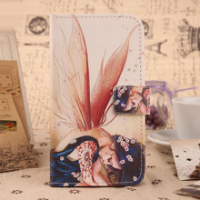 ABCTen Lovely Cartoon Book Design Cover Wallet Bag PU Leather Skin Flip Protective Case For BlackBerry Z10(China)