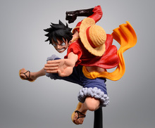 14CM One Piece Luffy Anime Action Figure PVC New Collection figures toys Collection for Christmas gift(China)