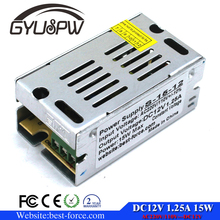 DC12v 15W Regulated Power Supply DC SMPS for LED Strip CNC 3D Print Ttransformer 100-240V AC to DC12V 1.25A UPS block power