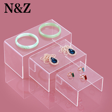 Hot selling 3pcs per set jewelry display wallet holder watch rack cellphone stand with acrylic material nice new design