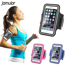 Durable Running Jogging Sports GYM Arm Band Strap Case Cover for iPhone X 8 7 6 6s 6 Plus 5 5S 5C SE Waterproof Phone Bag Case